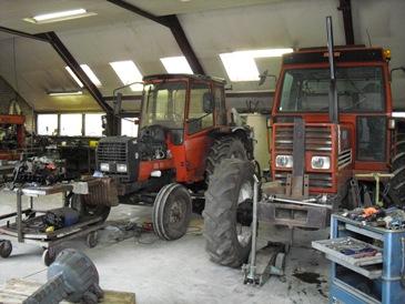 tractor reparatie